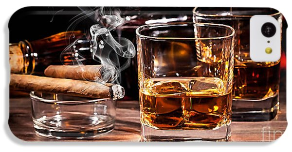 Cigar And Alcohol Collection IPhone 5c Case