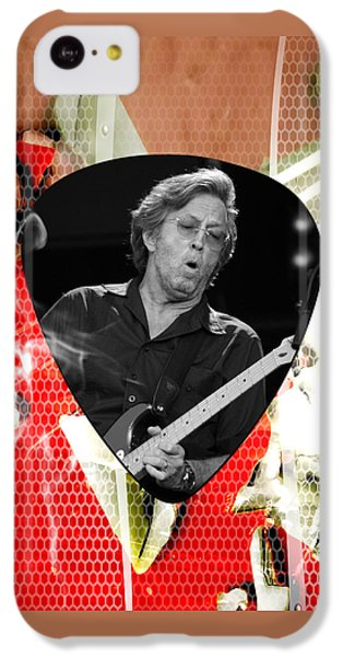 Eric Clapton Art IPhone 5c Case by Marvin Blaine