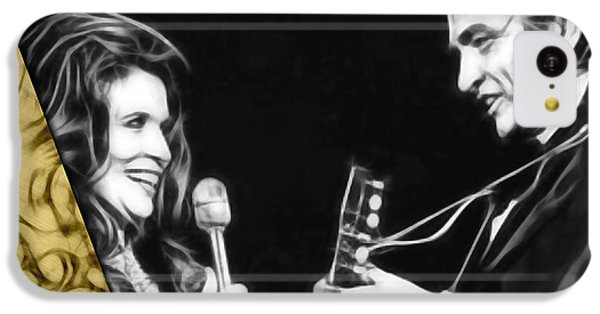 June Carter And Johnny Cash Collection IPhone 5c Case