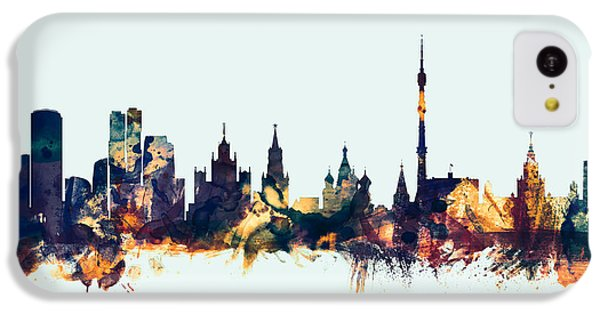 Moscow Russia Skyline IPhone 5c Case