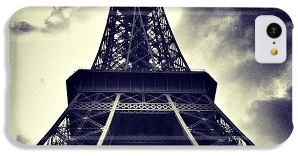 Sky iPhone 5c Case - #paris by Ritchie Garrod
