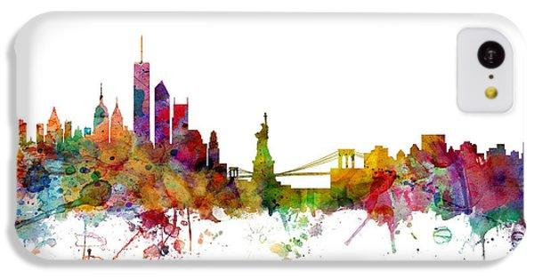 New York Skyline IPhone 5c Case