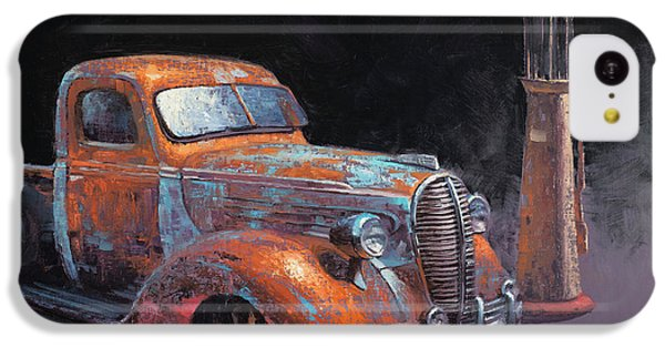 Truck iPhone 5c Case - 38 Fat Fender Ford by Cody DeLong