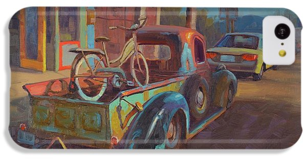 Truck iPhone 5c Case - 38' Ford In Jerome, Az by Cody DeLong