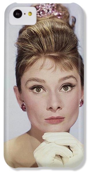 Audrey Hepburn IPhone 5c Case by John Springfield