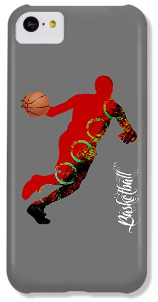 Basketball Collection IPhone 5c Case by Marvin Blaine