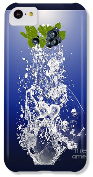 Blueberry Splash IPhone 5c Case by Marvin Blaine