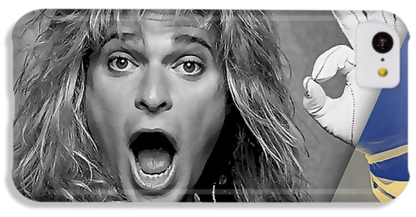 David Lee Roth Collection IPhone 5c Case by Marvin Blaine