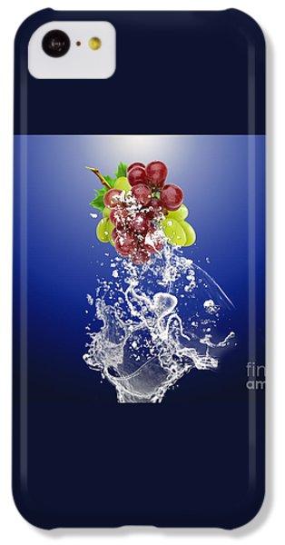Grape Splash IPhone 5c Case by Marvin Blaine