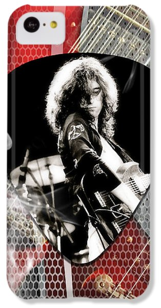 Jimmy Page Art IPhone 5c Case by Marvin Blaine