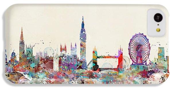 London City Skyline IPhone 5c Case
