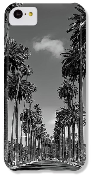 Beverly Hills iPhone 5c Case - Palms Of Beverly Hills by Mountain Dreams
