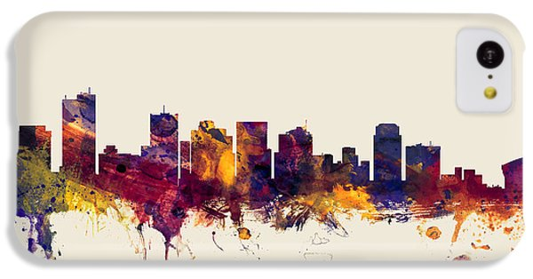 Phoenix Arizona Skyline IPhone 5c Case by Michael Tompsett