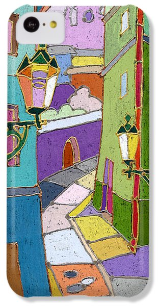 Prague Old Street IPhone 5c Case by Yuriy  Shevchuk