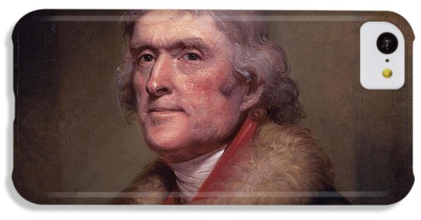 President Thomas Jefferson IPhone 5c Case by War Is Hell Store
