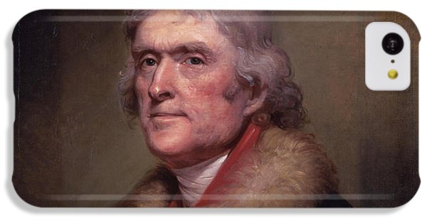 President Thomas Jefferson IPhone 5c Case