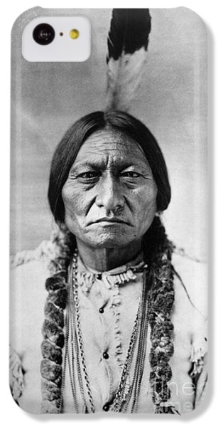 Portraits iPhone 5c Case - Sitting Bull 1834-1890. To License For Professional Use Visit Granger.com by Granger