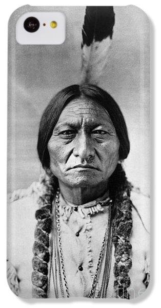 Bull iPhone 5c Case - Sitting Bull 1834-1890. To License For Professional Use Visit Granger.com by Granger
