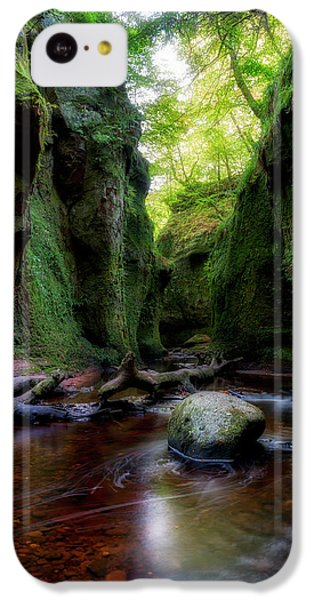 The Devil Pulpit At Finnich Glen IPhone 5c Case