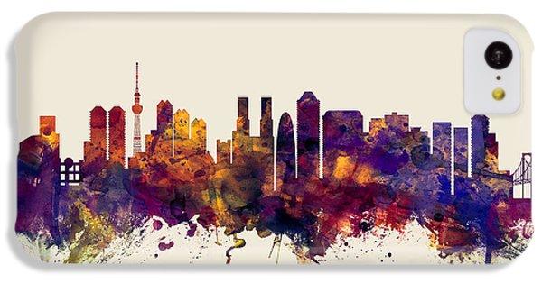 Tokyo Japan Skyline IPhone 5c Case by Michael Tompsett