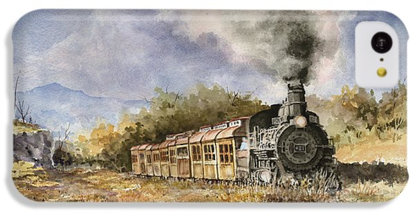 Train iPhone 5c Case - 481 From Durango by Sam Sidders