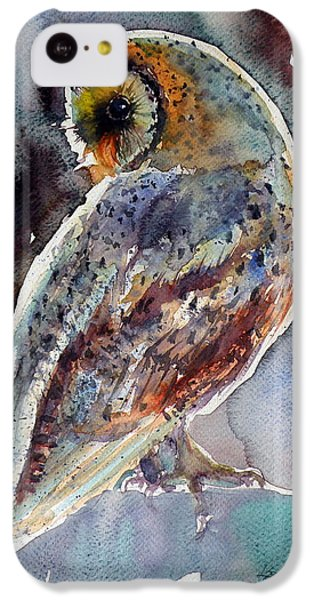 Barn Owl IPhone 5c Case by Kovacs Anna Brigitta