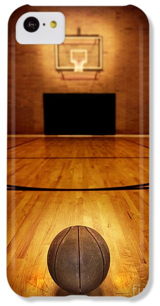 Basketball And Basketball Court IPhone 5c Case by Lane Erickson