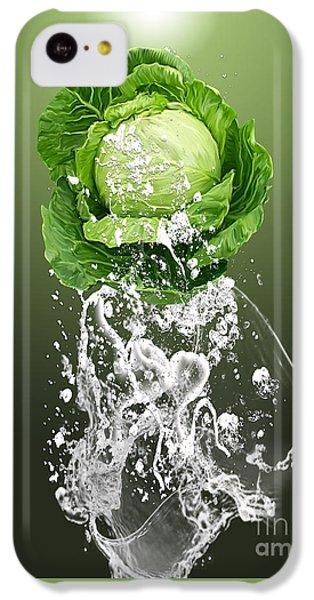 Cabbage Splash IPhone 5c Case by Marvin Blaine