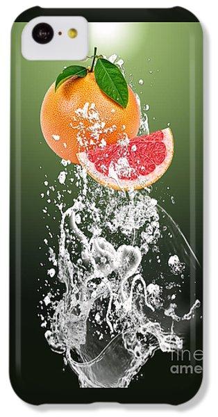 Grapefruit Splash IPhone 5c Case by Marvin Blaine