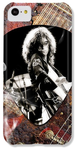 Jimmy Page Art IPhone 5c Case