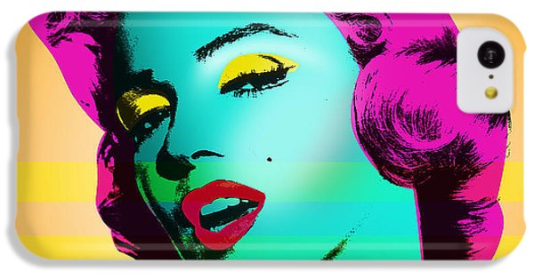 Marilyn Monroe IPhone 5c Case by Mark Ashkenazi