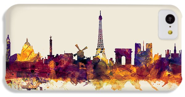 Paris France Skyline IPhone 5c Case