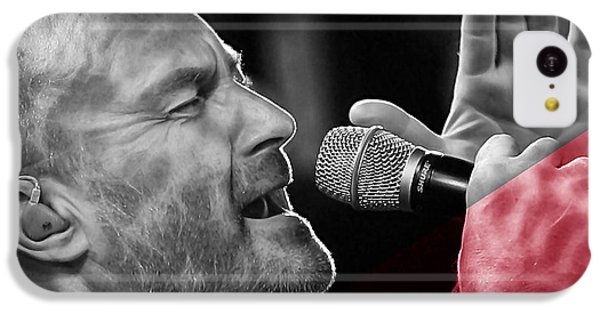 Phil Collins Collection IPhone 5c Case by Marvin Blaine