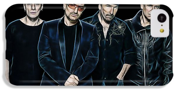 U2 Collection IPhone 5c Case by Marvin Blaine