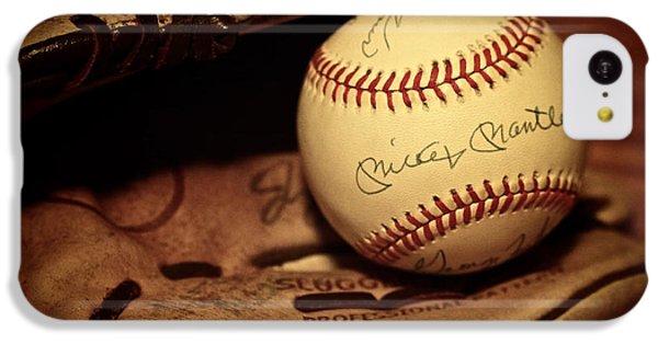 50 Home Run Baseball IPhone 5c Case by Mark Miller