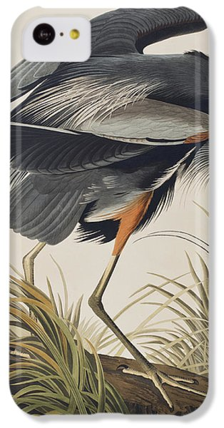 Great Blue Heron IPhone 5c Case by John James Audubon