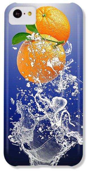 Orange Splash IPhone 5c Case