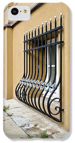 Dungeon iPhone 5c Case - Window Bars by Tom Gowanlock