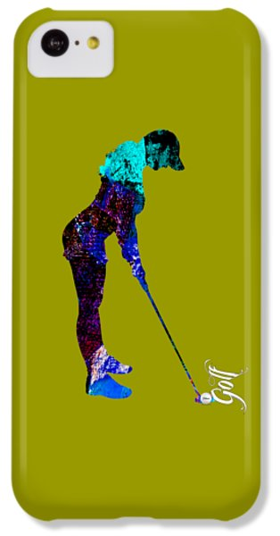 Womens Golf Collection IPhone 5c Case by Marvin Blaine