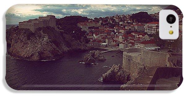 iPhone 5c Case - Croatia by Bike Flower