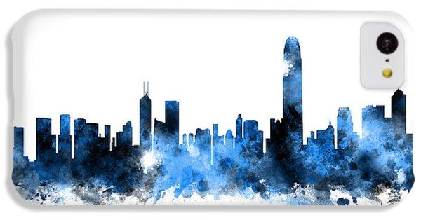Hong Kong Skyline IPhone 5c Case by Michael Tompsett