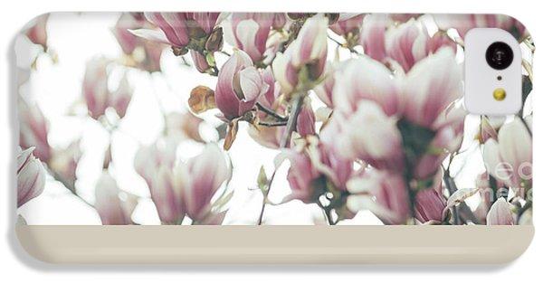Magnolia IPhone 5c Case by Jelena Jovanovic