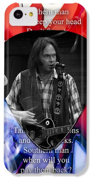 Neil Young Art IPhone 5c Case
