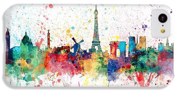 Paris France Skyline IPhone 5c Case