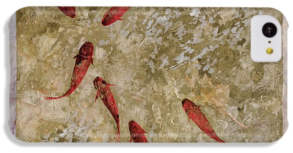 7 Pesci Rossi E Oro IPhone 5c Case by Guido Borelli