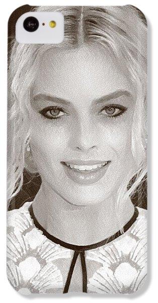 Actress Margot Robbie IPhone 5c Case
