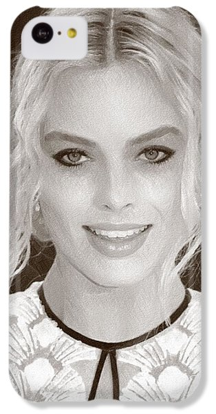 Actress Margot Robbie IPhone 5c Case by Best Actors