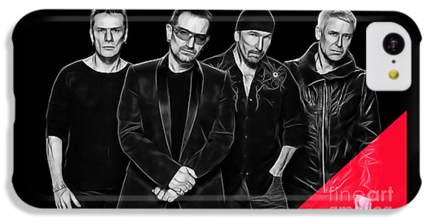 Bono iPhone 5c Case - U2 Collection by Marvin Blaine