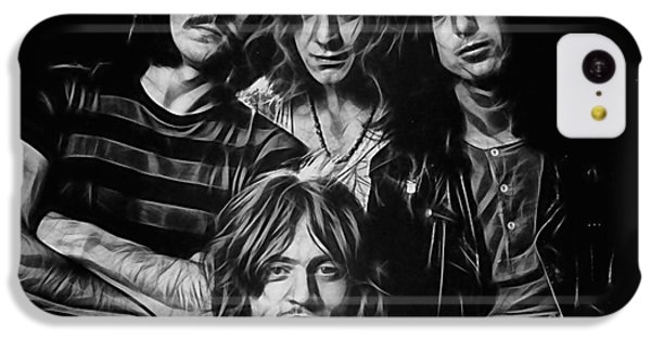 Led Zeppelin Collection IPhone 5c Case by Marvin Blaine