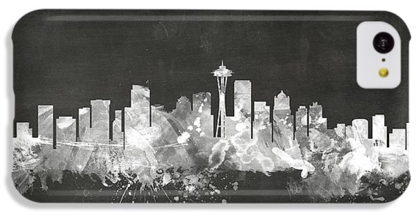 Seattle Washington Skyline IPhone 5c Case